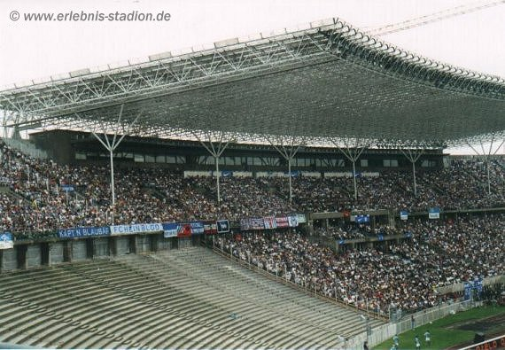 Hertha BSC vs Borussia Dortmund am 04.08.2001