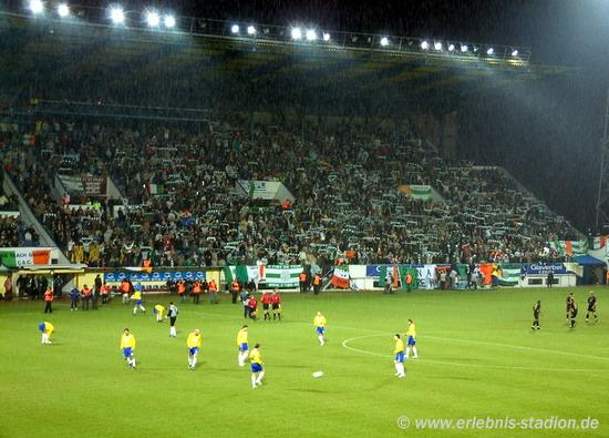 FK Teplice vs Celtic F.C. am 03.03.2004